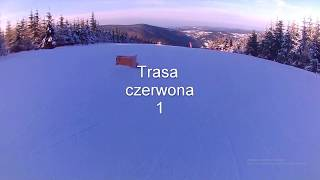 Harrachov 2018.Trasy zjazdowe.