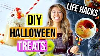DIY Halloween Party Treats + Life Hacks 2016!