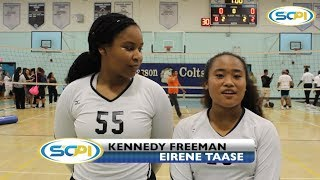 HIGHLIGHTS: Carson Volleyball Knocks Off San Pedro 3-0