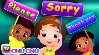Say Please, Sorry and Thank You! - Good Habits For Children | ChuChu TV Nursery Rhymes & Kids Songs
