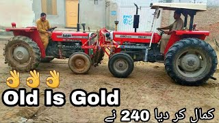MF 240 VS MF 260 Tractor