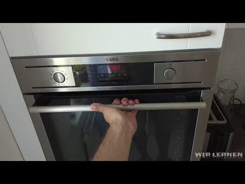 Aeg Kühlschrank Handbuch : Küche mit e geräten: aeg backofen competence pyrolyse anleitung