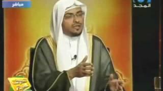 المغامسي يبين خطأ فتوى الشيخ الشعراوي في الاضرحة
