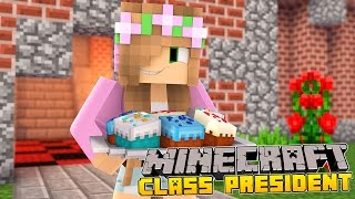 Minecraft School - LITTLE KELLY BECOMES CLASS PRESIDENT!
