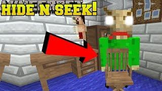 Minecraft: BALDI HIDE AND SEEK!! - Morph Hide And Seek - Modded Mini-Game