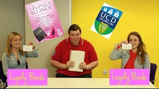 Legally Blonde or Legally Brunette? w/UCD's Legally Blonde Cast // THEATREJUICE