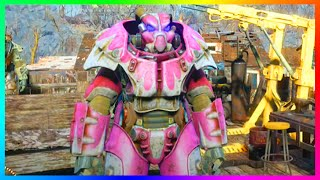Fallout 4 RARE Full X-01 Power Armor Suit Location! - Best Power Armor In Fallout 4! (FO4)