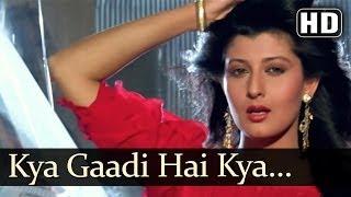 Kya Gaadi Hai Kya (HD) - Lakshman Rekha Songs - Jackie Shroff - Shilpa Shirodkar - Alka Yagnik