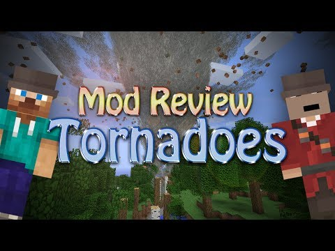 Minecraft Mod: TORNADOES (Weather & Tornadoes)