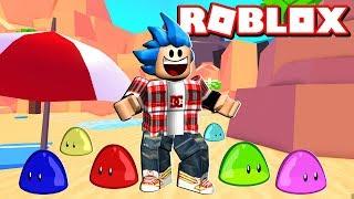 ¡LLEGO A LA PLAYA con 6 PETS! - Roblox: Blob Simulator 2