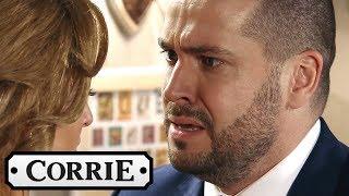 Aidan Finally Confesses the Truth to Eva - Coronation Street