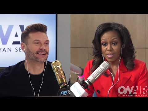 Michelle Obama Talks About 'Becoming' Herself | On Air with Ryan Seacrest