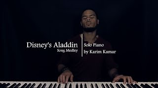 Every Song From Aladdin in 7 mins - Amazing Piano Medley
