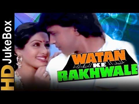 Watan Ke Rakhwale 1987 Full Video Songs Jukebox Mithun Chakraborty Sridevi Dharmendra