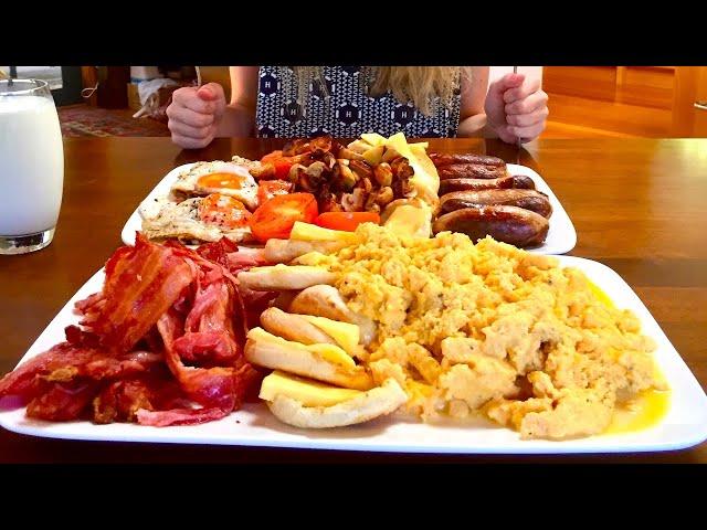 Massive 10,000 Calorie English Breakfast Challenge