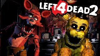 HUNTED BY FOXY!   Left 4 Dead 2 (Fnaf Map) #3