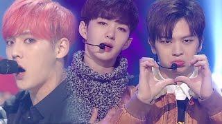 《POWERFUL》 BTOB (비투비) - I'll Be Your Man (기도) @인기가요 Inkigayo 20161127