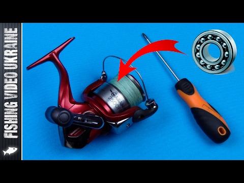 разборка катушки для рыбалки
