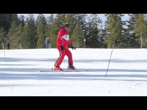 Skikurs in fünf Minuten - So klappen die ersten Kurven auf der Piste