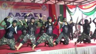 Independence day 2016 | Dalmia college | Dance performance | Life of soldiers | Ronalds Planet D