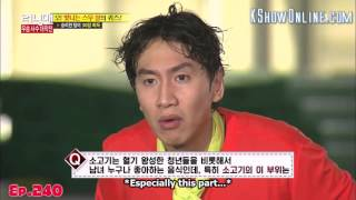 [ENG SUB] Running Man. Kwang Soo Funny Answer Moment