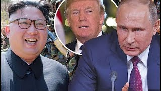 Putin sides with Kim Jong un as he goads Trump's ability to target North Korea