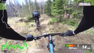 Dalsland XC 60km 2015 MTB XC Race - Full Video - Bengtfors (swe) 2/4 2015