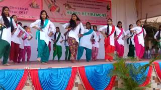 Dance on cham cham song /St mary's high school secunderabad .