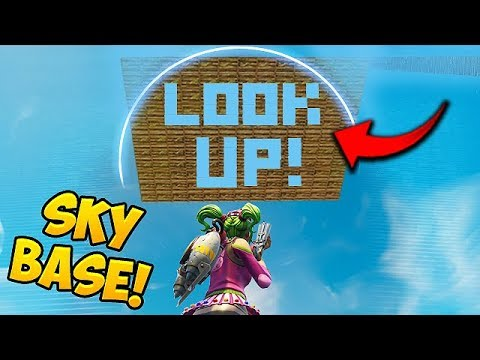 SKY BASE TROLL GONE WRONG Fortnite Funny Fails and WTF Moments 333