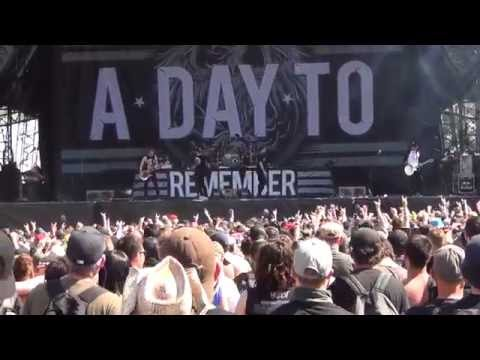 A Day To Remember live at Hellfest 2015