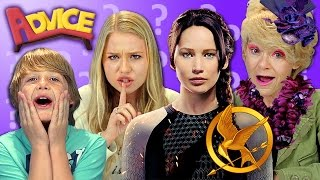 HOW TO WIN THE HUNGER GAMES (REACT: Advice #34)