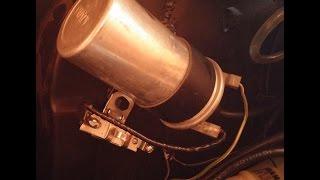 Adriano Alves - Fusca bobina esquentando - instalação do resistor