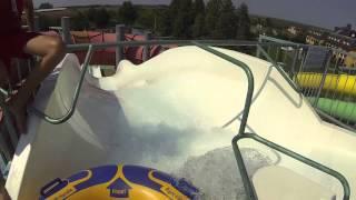 Falling Down the Niagara Water Slide