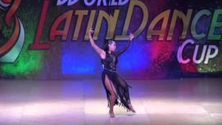 Denisse Alexandra Perez, Mexico, Salsa Amateur Lady, inal Round, WLDC 2015