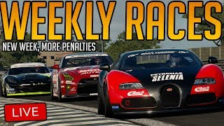 Gran Turismo Sport: New Load of Weekly Races | AND GETTING PENALTIES OBVIOUSLY