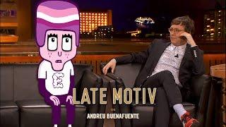 LATE MOTIV - Enjuto Mojamuto y su creador Joaquín Reyes juntos en Late Motiv | #LateMotiv40