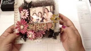 Love 2 Scrap Net Mini Album