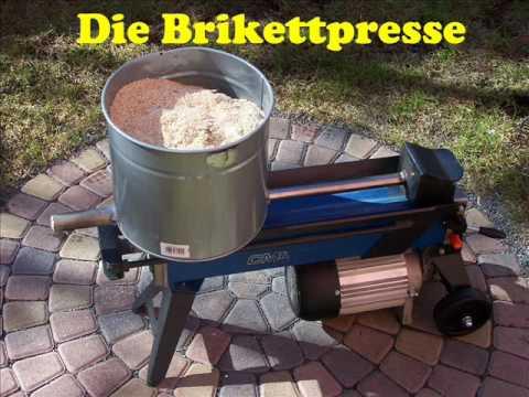Brikettpresse Brikettierpresse.wmv