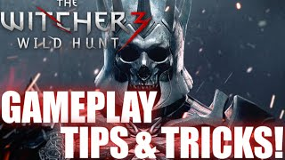 The Witcher 3 Wild Hunt tips and tricks!