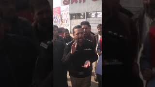 SP Tahir Dawar talking to media on Kamran murder