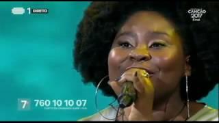 Deolinda Kinzimba - O Que Eu Vi Nos Meus Sonhos - Final | Festival da Canção 2017 | RTP
