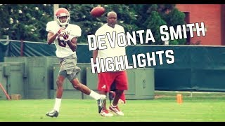 DeVonta Smith Highlights at Alabama