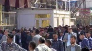 Iran president visits Najaf, meets Shiite cleric
