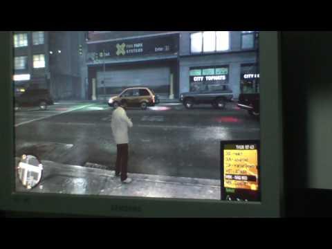 GTA 4 Batidas e mortes bizarras HD
