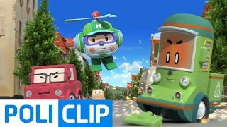 Stop Cleany!! | Robocar Poli Rescue Clips