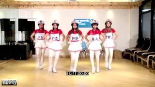 Crayon Pop - BAR BAR BAR Dance Tutorial Step 01 NORMAL