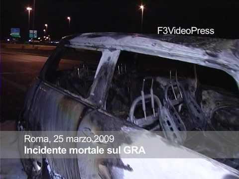 Roma incidente mortale sul GRA centauro muore decapitato