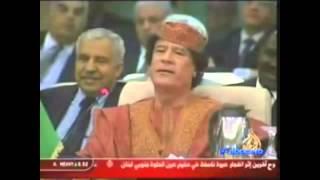 Kadhafi se dispute avec l