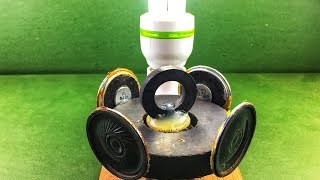 How to make free energy diy generator mini electric dc motor with small speaker magnet new project
