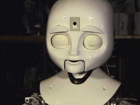 MIT's Nexi MDS Robot: First Test of Expression